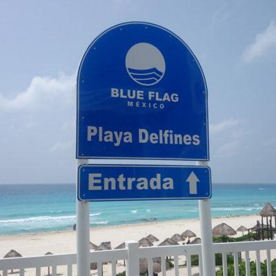 PIERDE CANCÚN TODAS SUS 'BLUE FLAG': En el arranque del gobierno de Mara Lezama, quitan certificación a balnearios del principal destino turístico de QR porque se constató que están descuidados