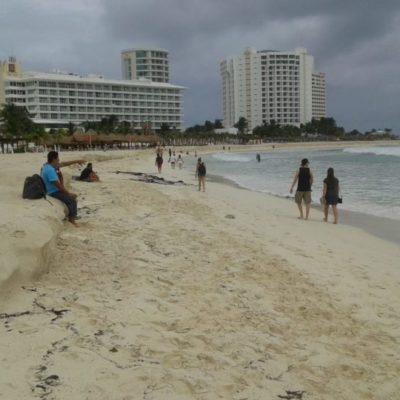 'Michael' se llevó sargazo… pero también arena; se registra erosión de playas en Cancún
