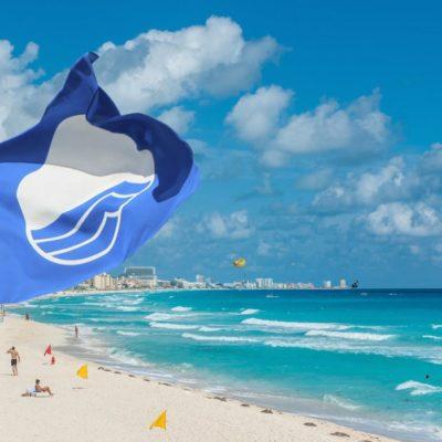 CONFIRMAN QUE SÍ FUERON BAJADAS LAS 'BLUE FLAG' EN CANCÚN: Dice la operadora de la certificación de la calidad de playas que el problema se generó por una omisión de la Zofemat en la entrega de documentación tras una segunda revisión