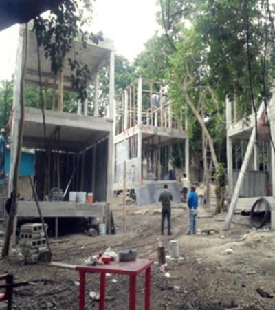 Clausura Profepa construcción de edificios en ecosistema lagunar costero en Bacalar