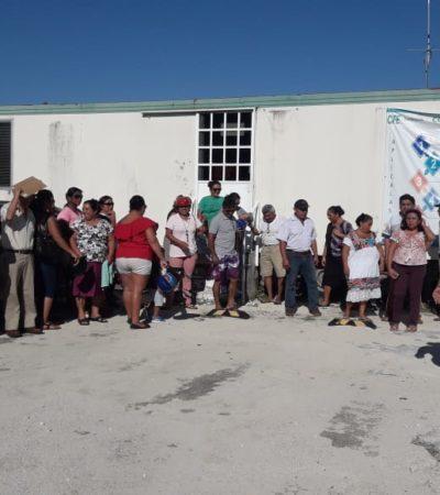Protestan colonos contra la CFE en Cozumel