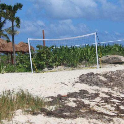 """Baja de bandera 'Blue Flag' en Punta Esmeralda, """"llamada de atención"""""""