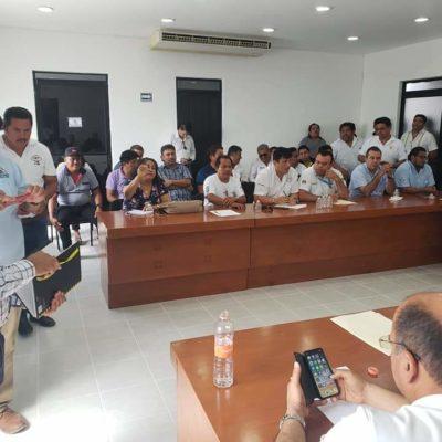 Desactivan, por segunda vez, conflicto taxista en Tulum y Carrillo Puerto