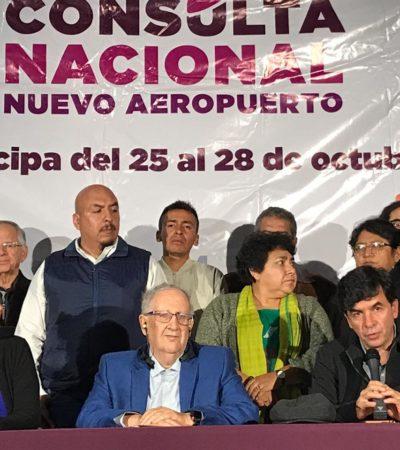 PROFECÍA AUTOCUMPLIDA: Consulta tumba el proyecto del NAIM en Texcoco; gana Santa Lucía