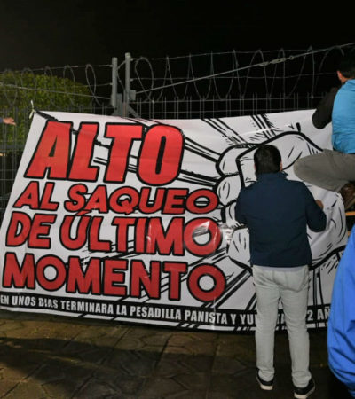Denuncian diputados de Morena 'saqueo de último minuto' del gobierno de Yunes en Veracruz