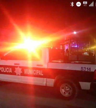 ACTUALIZACIÓN | RECIBIÓ UN BALAZO DEBAJO DE LA BOCA: Hieren a adolescente de 15 años en la Región 227 de Cancún