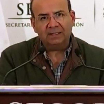Portaban armas y bombas molotov migrantes que intentaban ingresar ayer a México, asegura Segob