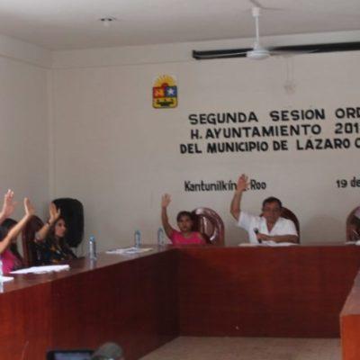Aprueba Cabildo obras en Lázaro Cárdenas para fin de año