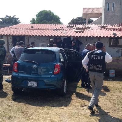 Deja enfrentamiento en Texcoco, Edomex, tres civiles y un agente muertos
