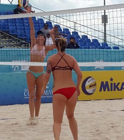 """""""TENDREMOS UNA GRAN SEMANA"""": Presentan torneo mundial de voleibol playa, en Chetumal"""