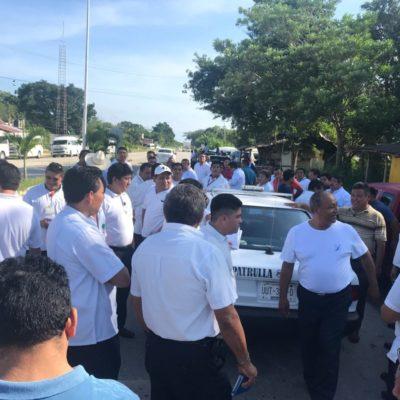 Se logra una tregua en el conflicto entre transportistas de Tulum y Carrillo Puerto