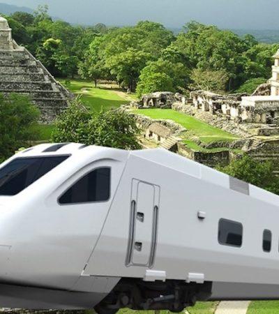 Proponen que dueños de terrenos por donde pase la vía del Tren Maya sean socios del proyecto