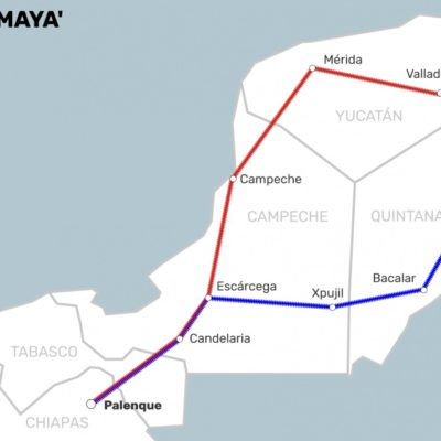 Se reunirá hoy AMLO con los cinco gobernadores del Sureste y la Península para afinar Tren Maya