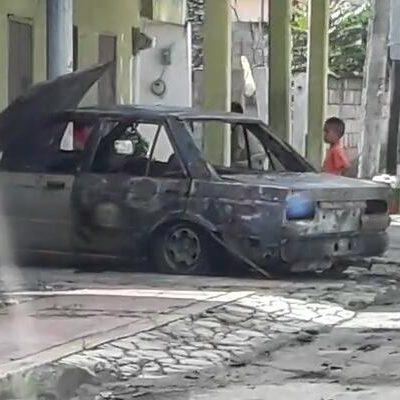 Asusta a Kantunilkín incendio intencional de automóvil; temen llegada de la delincuencia organizada