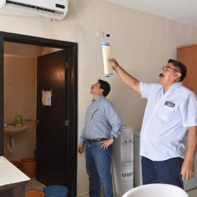Constata Víctor Mas carencias en instalaciones municipales en instalaciones públicas de Tulum