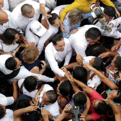 Tersa transición en Yucatán de PRI a PAN; ofrece Vila Dosal conservar y mejorar lo que se ha hecho bien