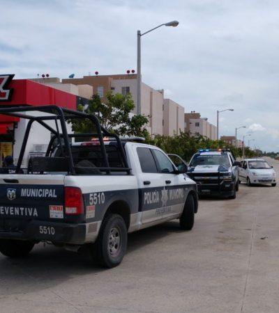 DOS ATRACOS EN CANCÚN: Asaltan de manera consecutiva dos expendios de cerveza con saldo de dos lesionados por disparos