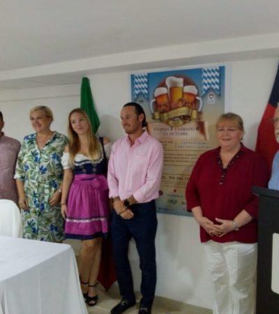 Preparan una edición más del OktoberFest en Cancún; además de promover la gastronomía y cerveza alemana, los recursos serán en beneficio de los bomberos