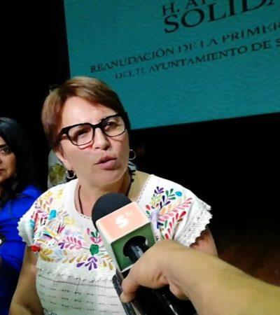 Laura Beristain acepta que le faltó comunicación y capacidad de precabildeo; lamentó las agresiones ocurridas y llamó a evitar la violencia