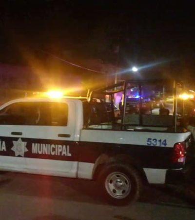 Reportan un embolsado, un herido y balazos contra la fachada de un hotel en tres diferentes hechos antes de la medianoche del domingo en Cancún