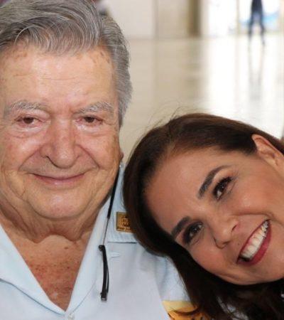 MARA LEZAMA VA A LO DE GASTÓN ALEGRE: Se reúne Alcaldesa con el empresario radiofónico en medio de la polémica por su propuesta de cambiarle el nombre al municipio de Benito Juárez por Cancún