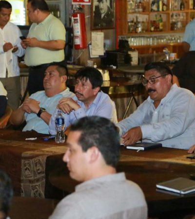 A seis días de iniciado su gobierno, presenta Víctor Mas inversión de 9 mdp para andador peatonal