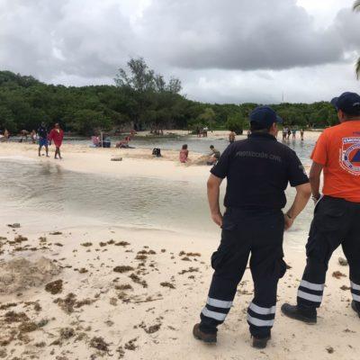 OPERATIVO EN PLAYA POR LA TORMENTA: Mantienen cerrado el puerto y cancelan actividades culturales y deportivas, pero las clases se mantienen