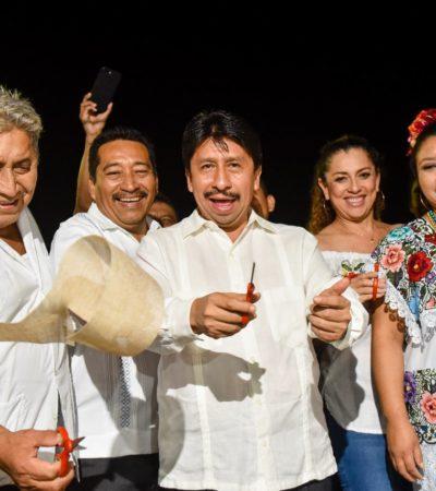 Inaugura Víctor Mas la Tradicional Fiesta Maya de Tulum