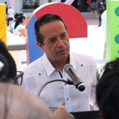 RECHAZA CARLOS JOAQUÍN MILITARIZACIÓN DE CANCÚN: Dice Gobernador que Brigada de la Policía Militar no es una reacción emergente ante la ola de violencia y que se coordinarán con otras policías