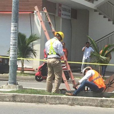 PIFIA DE EMPRESA PROVOCA APAGÓN EN PLAYA: Izzi daña cable subterráneo de CFE y deja sin luz a seis fraccionamientos y colonias