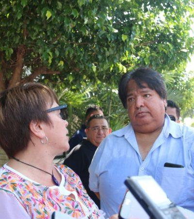 Empresarios turísticos se enfrentan a Laura Beristain en evento público por el aumento de tarifas de electricidad y los vendedores ambulantes de la Quinta