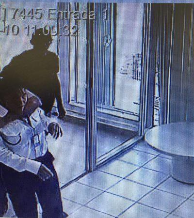 ASALTAN BANCO EN LA REGIÓN 98 EN CANCÚN: Empistolados ingresa a Banamex y amagan a clientes y empleados para llevarse dinero de las cajas