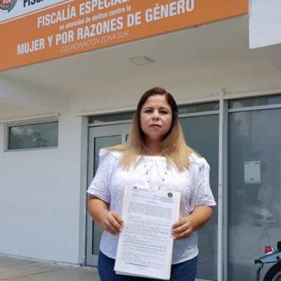 María Hadad Castillo interpone denuncia ante la Fiscalía contra Rodrigo Madera Izquierdo, director de Comunicación Social de OPB