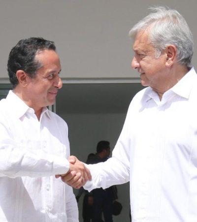 ACUERDAN ZONA LIBRE PARA CHETUMAL: Tras reunión con el Gobernador, anuncia AMLO reducción del IVA de 16 al 8%, disminución del ISR al 20% y homologación de combustibles en la capital de QR