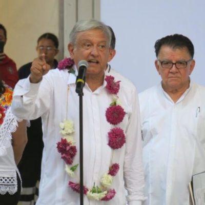 Rompeolas: Las promesas que hasta ahora ha hecho López Obrador a QR