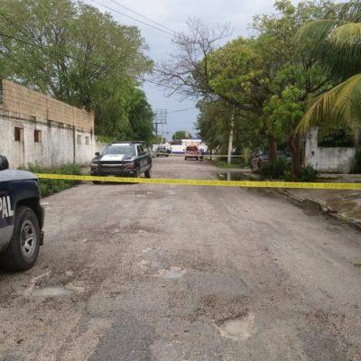 Encuentran a un indigente asesinado a golpes por un cenote de la Región 100 de Cancún