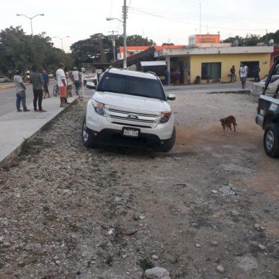 ATAQUE A BALAZOS EN LA ZONA DE TRANSICIÓN DE TULUM: Tirotean a dos hombres en el poblado Francisco Uh May en un presunto intento de asalto