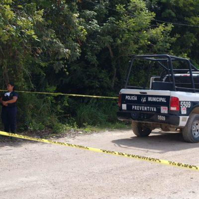 SIGUE LA VIOLENCIA EN CANCÚN: Con un disparo en la cabeza, hallan a otro ejecutado, ahora en la colonia El Pedregal