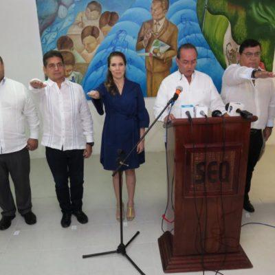 CARLOS JOAQUÍN POSICIONA A SUS ALFILES EN LOS MUNICIPIOS: Presentan a los primeros cinco 'directores de enlace' del Gobierno de QR para garantizar la gobernabilidad de los Ayuntamientos