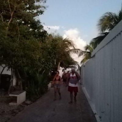Autoridades municipales descuidan playas 'Blue Flag'; vendedores ambulantes, falta de alumbrado y nula vigilancia en los arenales