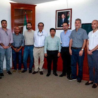Víctor Mas se reúne con autoridades estatales y federales para acordar el trabajo que se realizará en la protección de ecosistema