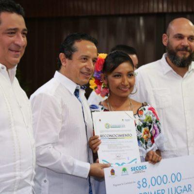 Entrega Gobernador el Premio Nacional de Contraloría Social en su Décima Edición Quintana Roo 2018