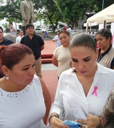 """""""ES UN TEMA MERAMENTE ADMINISTRATIVO"""": Reconoce Mara que fue responsabilidad de Zofemat que bajaran las 'Blue Flag' de playas de Cancún"""