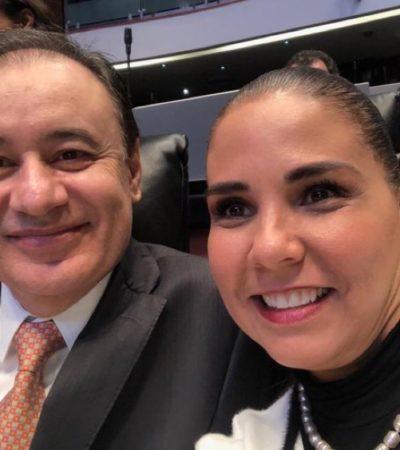 NO ALCANZA CON EL DINERO MUNICIPAL: Viajó Mara a la CDMX para cabildear recursos para proyectos en Cancún