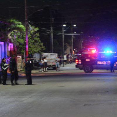 BALAZOS EN LA REGIÓN 216: Saldo de tres heridos por ataque antes de la medianoche en Cancún