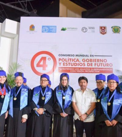En la inauguración del Congreso Internacional de Gobierno, Gestión y Profesionalización, Víctor Mas se compromete a impulsar programas contra la exclusión social