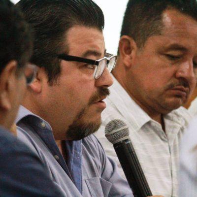 El regidor Carlos Guerra, acusa a Ludwin Cárdenas, ex contralor de Solidaridad, de inventarle un desfalco millonario