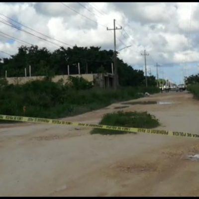 DOMINGO ROJO: Ejecutan a un hombre de seis disparos en la Región 202 de Cancún