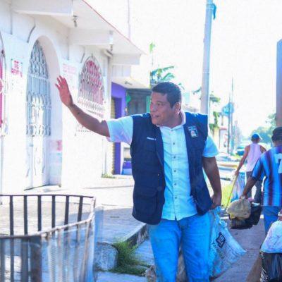 ARREMETEN CONTRA 'OPORTUNISMO' DE ZELAYA EN CHETUMAL: Pide Valencia Cardín destitución del director de Servicios Públicos en OPB