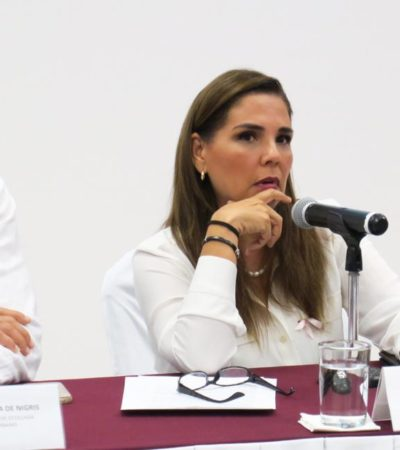 Rompeolas: Extra-Base | 'Escudo Verde' para alcaldesa 'morenista'